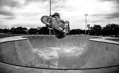 Frontside Air Nick Schwab (Nathan Gentry) Tags: sky blackandwhite digital crazy skateboarding air bowl canon5d blackonwhite