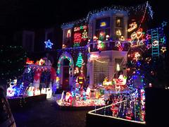 Birkhall Road lights (clogsilk) Tags: christmaslights catford 2013 birkhallroad