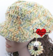 "Crochet hat set • <a style=""font-size:0.8em;"" href=""http://www.flickr.com/photos/66263733@N06/11371739104/"" target=""_blank"">View on Flickr</a>"