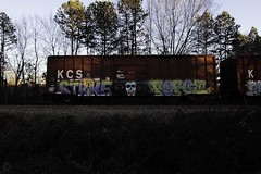 Strike  Foroe (Revise_D) Tags: by graffiti zee db revise strike tagging freight revised wh trainart fr8 bsgk benching foroe fr8heaven fr8aholics revisedesigns revisedesign fr8bench benchingsteelgiants