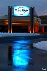 Hard Rock Reflection (Thom Sheridan) Tags: ohio racetrack cleveland machine slot harnessracing rocksino