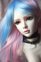 drop of colour (BabaYagasDolls) Tags: ball doll elf half bjd dollfie jointed halfelf limhwa