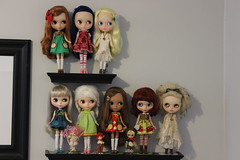 Current Collection - The Blythes & Realpuki