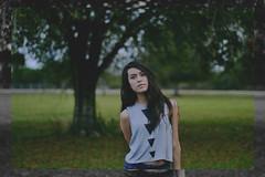 (Vanessa Cantu) Tags: vanessa tree triangles hair 50mm nikon long florida bokeh cantu d3100