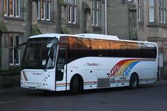 WX7622  Travellers Choice, Carnforth (highlandreiver) Tags: bus station coach citadel travellers railway lancashire cumbria choice carlisle jonckheere carnforth wx7622