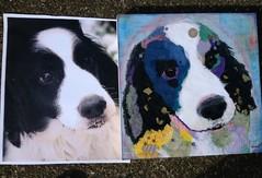 Torn Paper Dog Portrait - Jack (all things paper) Tags: petportraits chigirie tornpaperart