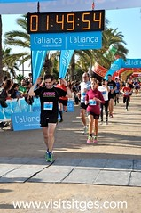 Mitja Marat Sitges 2014 (Sitges - Visit Sitges) Tags: barcelona sport media running run deporte sitges correr atletismo marat 2014 maratn mitja atletas esport atletisme