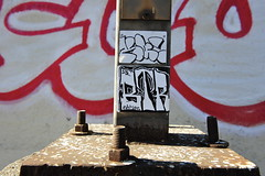 KAMOE, BTR (STILSAYN) Tags: california graffiti oakland bay east area btr 2014 kamoe