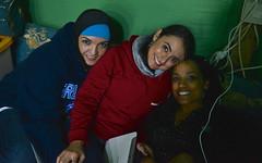 Diwaniyah breathes life to the desert (143d ESC) Tags: music food dinner army engagement dancing tea culture social tent arabic east cesar soldiers kuwait middle khaima lute civilaffairs rivera islamic kuwaitis g9 publicaffairs diwaniyah mukhayyam 143desc sustainmentcommandexpeditionary johncarkeet aljashua