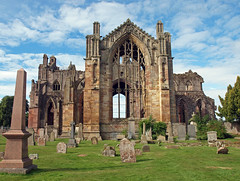 Melrose Abbey 2 (PhillMono) Tags: travel abbey photography ruins border olympus melrose e30 territory