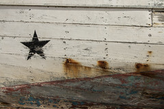 The Star (Sam Finch) Tags: old storm texture abandoned canon star boat paint peel derelict weatherd 70d