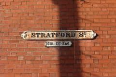 Stratford St, Sparkbrook (BackofRackhams) Tags: road street england streets birmingham unitedkingdom streetsigns roads names streetname streetnames sparkbrook roadname nameplates b11 roadnames stratfordstreet streenames