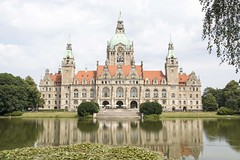 20130724_Town Hall NEW_049 (villy_yovcheva) Tags: architecture germany hanover building hannover old lake blue town city history hall tower sky style castle park reflection historic europe niedersachsen dome tree traditional exterior rathaus new water landmark historical townhall cityhall saxony tourism outdoor landscape art urban construction view german stone administration house observation symbol roof green decoration maschpark color lovely historism eclecticism emperor classicism postmodernism travel scene pond floor palace renaissance guildhall trees garden parliament cityscape baroque gothic european