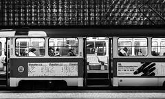 Tram 22 (Markus Kolletzky) Tags: street white black canon tram prag schwarz schiene pnv weis strasenbahn 5dmarkii vision:text=0807 vision:outdoor=098