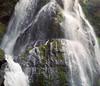 Falls Creek Falls (po1yester) Tags: film waterfall washington hiking hasselblad fuji160s summer2009