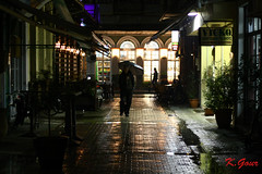 all alone (Kostas Gourgiotis (Cost@s)) Tags: street city rain umbrella canon alone all costs kostas 450d gourgiotis kgour