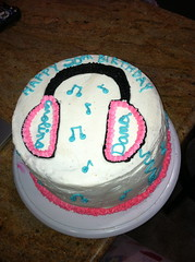Carolina and Dana's Birthday Cake (KaitlynBakes) Tags: cakes cake lost cupcakes baking spiderman transformers headphones icing jello hogwarts fondant oceanic cannolis jakeandtheneverlandpirates {vision}:{text}=0709