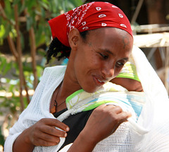 Ethiopie, Gondar, young mother (Elena14u2012) Tags: africa people ethiopia mygearandme