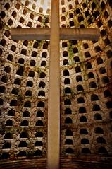 Cross in the Crypt (Stella Blu) Tags: mexico cross caribbean crypt quintanaroo excaret naturalmonochrome nikkor18200 stellablu nikond5000