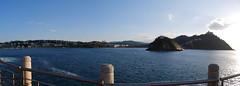 Panorámica de la Bahía de la Concha, Donostia (Virginia Giné) Tags: mar nikon donostia d60 guipuzkoa panoràmica