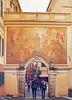 Noli - Porta di Piazza (rupertalbe - rupertalbegraphic) Tags: italy liguria alberto porta piazza noli mariani affresco spotorno rupertalbe rupertalbegraphiccom albertomariani rupertalbegraphic