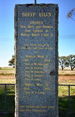 Sheep Hills War Memorial (phunnyfotos) Tags: nikon australia victoria vic warmemorial wimmera sheephills d5100 nikond5100 phunnyfotos