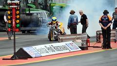 DSC_3307 (Fast an' Bulbous) Tags: santa england test car pits bike race drag spring pod nikon track power gimp fast testing turbo strip rwyb motorsport santapod acceleration d300s