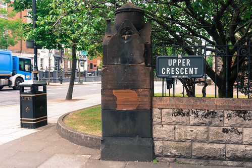 THE UPPER CRESCENT IN BELFAST