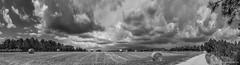 Panorama tempesta a la muntanya 02 (Fernando Laq) Tags: nubes tormenta tempesta montseny nubols hostalric