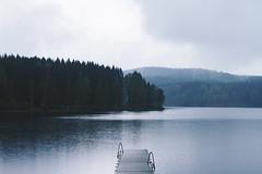 (Ane Lundeby) Tags: oslo sognsvann rain fog mist water