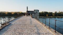 PA224160 (餅乾盒子) Tags: 法國 亞維儂 france avignon 夕陽 pont davignon saintbénezet 亞維儂斷橋 聖貝內澤橋 阿維尼翁橋