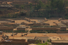Nepali brick factory (Ivo De Decker back from holiday) Tags: nepal horseracing horses chariot chariots travel documentary working ivodedecker life c candid brickfactory bricks