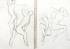 Gesture Drawing (arkamitra lahiricolour) Tags: indua drawing sketch gesturedrawing pencil pencilart figuredrawing humanfigure