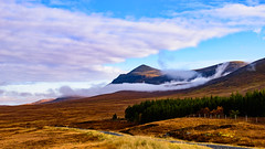 Altnaharra, Sutherlandshire. (Alan Cruickshank.) Tags: altnaharra sutherland sutherlandshire north highlands scottishhighlands scotland sun sea seascape tree sky nikond750 tamron1530mm camping clouds landscape