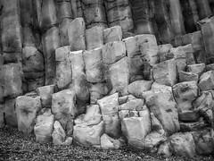 Volcanic Rock Columns (TheSimonBarrett) Tags: iceland lveldi sland volcanic geology reynishverfisvegur reynisfjara black sand beach