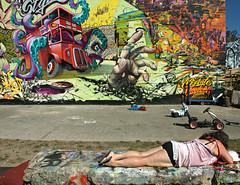 Down on the Corner (Becky Frances) Tags: beckyfrances bricklane city candid colour documentary england eastlondon eastend graffiti london light lensblr olympus pollyblue streetphotography shoreditch timeout urban uk 2016