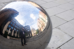 I ain't Hollywood (OR_U) Tags: 2016 oru uk london ballsofsteel snoopdogg selfie selfportrait twisted reflection mirror sphere stpauls cathedral city sliderssunday hss