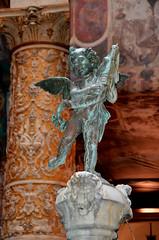 Florence XII (Makro Paparazzi) Tags: florence firenze firenca italy italija italia europe evropa eurotrip travelphotography nikon nikond7000 nikon18105mmf3556vr statue sculpture indoor angel cupid