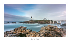 Faro de Isla Pancha... (Canconio59) Tags: islapancha largasexposiciones ribadeo lugo galicia espaa spain faro lighthouse isla island
