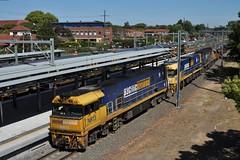 1WB3 Steel Concord West (highplains68) Tags: aus australia nsw newsouthwalessydney train mainnorth northern line rail railroad railway