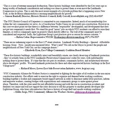 Media Release for Rally 10-19-2016 (GVSHP) Tags: local 46 metallic lathers iron workers nyc district council carpernters asbestos demolition moxy hotel hdc rosie mendez brad hoylman deborah glick east viallge community coalition les preservtion initiative