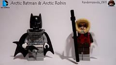 Arctic Batman & Arctic Robin (Random_Panda) Tags: lego figs fig figures figure minifigs minifig minifigures minifigure purist purists character characters dc comics superhero superheroes hero heroes super comic book books arctic batman robin