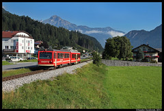 Zillertalbahn VT4, Fgen, 17-08-2011 (Sander Zwoferink) Tags: zillertalbahnvt4 fgen 17082011 2011 zillertal zillertalbahn oostenrijk vt4 jenbachmayrhofen spar strabag 760mm smalspoor