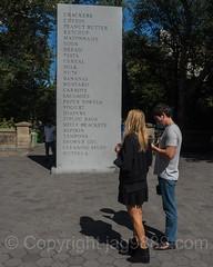 """Grocery List"" Memorial Sculpture by David Shrigley, New York City (jag9889) Tags: jag9889 memorial art publicart newyork centralpark 2016 groceries sculpture publicartfund granite text newyorkcity usa manhattan outdoor 20160922 artist cp landmark ny nyc nycparks park skulptur streetart unitedstates unitedstatesofamerica us"