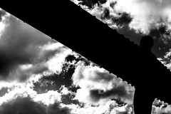 Dark Angel (George French Photography) Tags: angel angelofthenorth sillouette