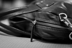 Bag 21/52 (Go-tea ) Tags: 52 52project bag cow zip leather open close opened closed computer laptop office work canon eos 100d 50mm business strad hook bw bnw black blackwhite blackandwhithe white indoor inside 21 picard asia china qingdao huangdao german brand luxury closeup