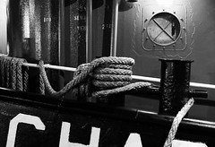 tugboat, Baltimore, Maryland, USA (Plan R) Tags: tugboat rope monochrome blackandwhite outdoor baltimore maryland leica m 240 noctilux