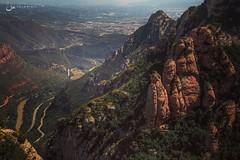Be Brave.Take Risks! (Saira Bhatti) Tags: sairabhatti landscape landscapephotography mountains canon60d canon canonphotography canonphotographers wanderlust travel travelphotography spain espana montserrat
