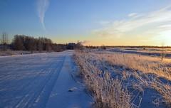 Sunrise. ND4 filter. (moshepotz) Tags: selivanovo dubrova winter morning sunrise nd4     landscape
