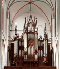 The Organ of the Dom of Schwerin, Germany (Philinflash) Tags: 2016 church churchinteriors europe germany organ orgel otherkeywords places schwerin